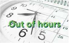 Out of hours logo